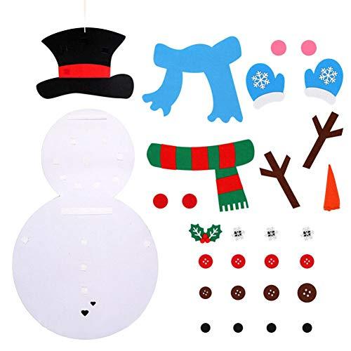 Giytoo - Muñeco de Nieve de Fieltro para niños