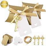 Minterest 50 Stück Gastgeschenke Hochzeit für Gäste