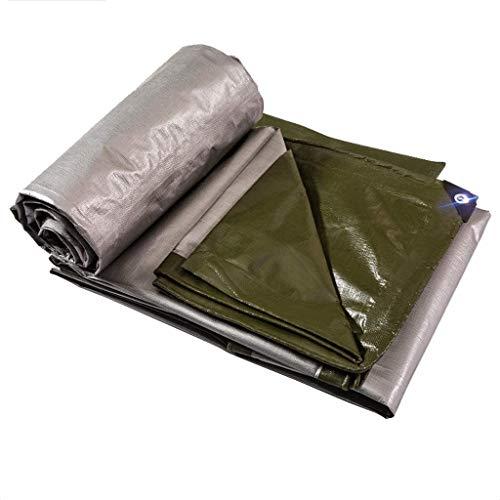 Telas para toldos LQ Engrosada Impermeable Lona de plástico de Tela de la sombrilla de Tela de protección Solar Camión Lona (Size : 10m*12m)