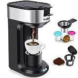 Machine à café MOSFiATA KCM206 Machine à café 2 en 1 Machine à café 1000W,...