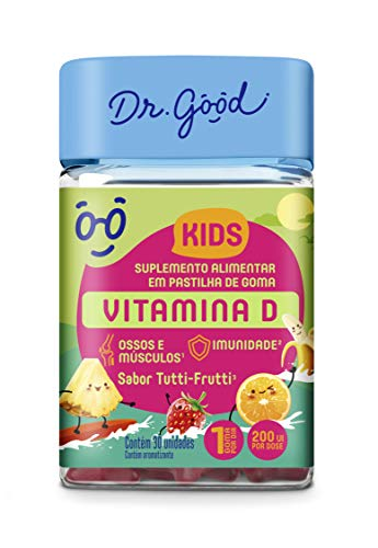 Vitamina D Kids Tutti- Fruti 60 Gomas