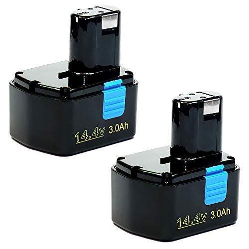 Joiry 3.5Ah 12V Ni-MH EB1212S Batterie de Rechange pour Hitachi EB1214L EB1214S EB1220BL EB1220HL EB1220HS EB1220RS EB1222HL EB1226HL EB1230HL EB1230R EB1230X EB1233X