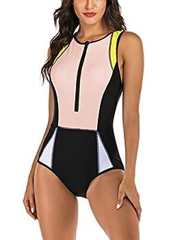 zipper swimsuits for women