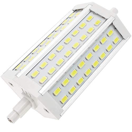 BeMatik - LED buislamp R7S 85-265VAC 10W 118mm witte koude daglamp