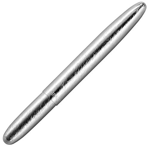 Fisher Space Pen, Bullet Space Pen, Brushed Chrome, Gift Boxed (400BRC)