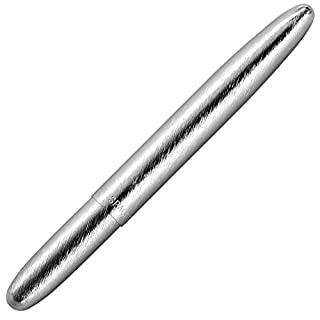 Fisher Space Pen, Bullet Space Pen, Brushed Chrome, Gift Boxed (400BRC) (B000HLD81A) | Amazon price tracker / tracking, Amazon price history charts, Amazon price watches, Amazon price drop alerts