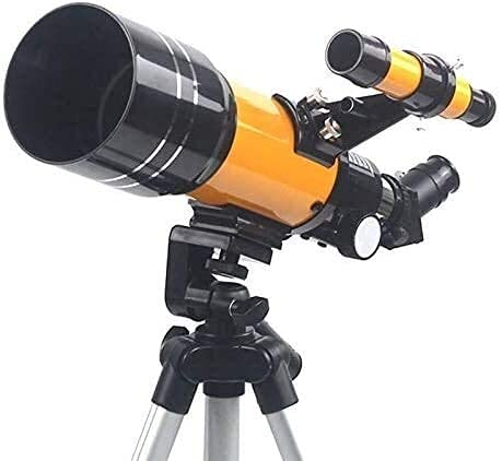 Astronomical Telescope Telescope for Kids Beginners 70mm Astronomical Refractor Telescope with Adjustable Tripod, Phone Adapter, Moon Filter and Carry Bag for Science Edu