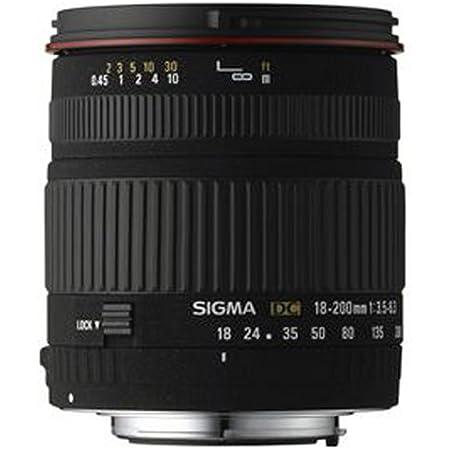 Sigma 18 200mm F3 5 6 3 Dc Objektiv Für Pentax Kamera