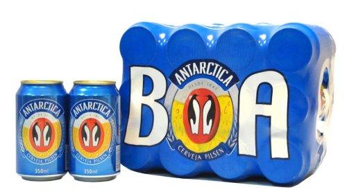 ANTARCTICA Bier Brasil 12er Pack Dose