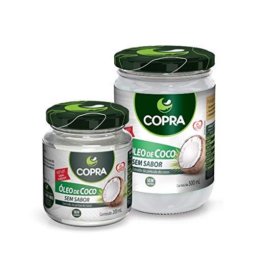 Copra Óleo de Coco sem Sabor, 500 Ml