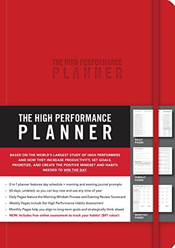 The High Performance Red Planner