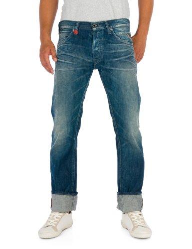 Replay Herren Jeans Normaler Bund MA995 .000.608 330, Gr. 31/34, Blau (7)