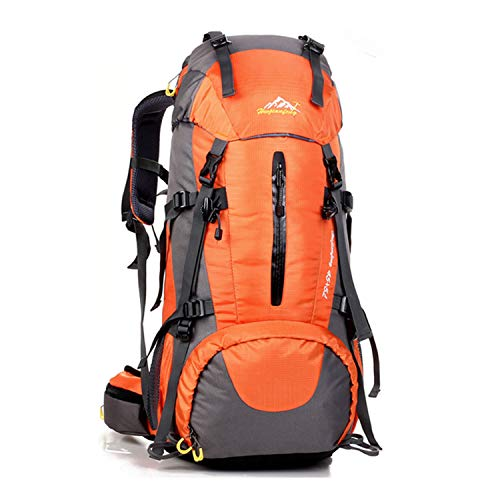 Freiesoldaten 50L Hiking Backpack for Men Women Outdoor Camping Travel Waterproof Rucksack with Rain...