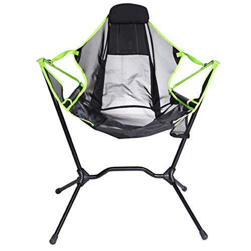LNIMI Outdoor Folding Chair Ultra-Light Portable Sitting and Lying Dual-Purpose Camping Outdoor Leisure Moon Chair