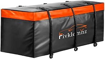 Fivklemnz 20 Cubic Feet Waterproof Hitch Tray Car Cargo Carrier Bag