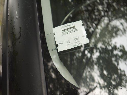 Tikettak - Auto-, bus- en caravan voorruit, ticket en notitiehouder (Vermijd parkeerboetes)
