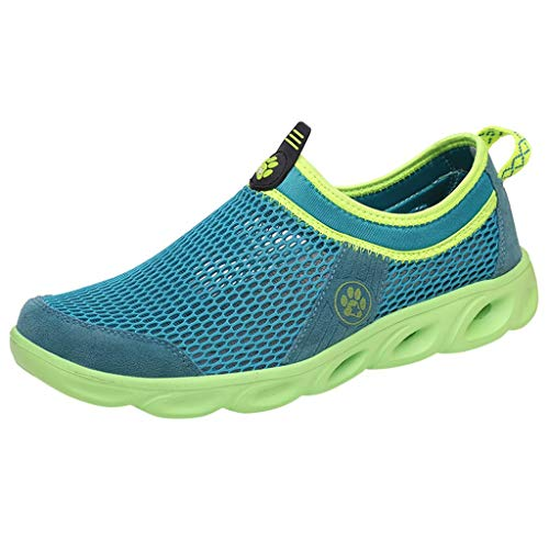 OPAKY Chaussure Aquatique Zapatos de Agua Acuático Escarpines de Surf de Playa de Deporte Zapatos de Malla de Verano para Parejas Deportes al Aire Libre Zapatos de Agua Huecos Zapatos Ocasionales