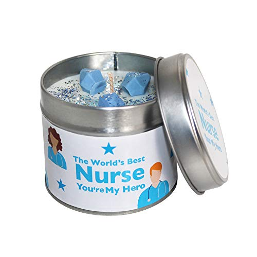 Sheenashona The World's Best Nurse, You're My Hero Sojawachskerze in Dose