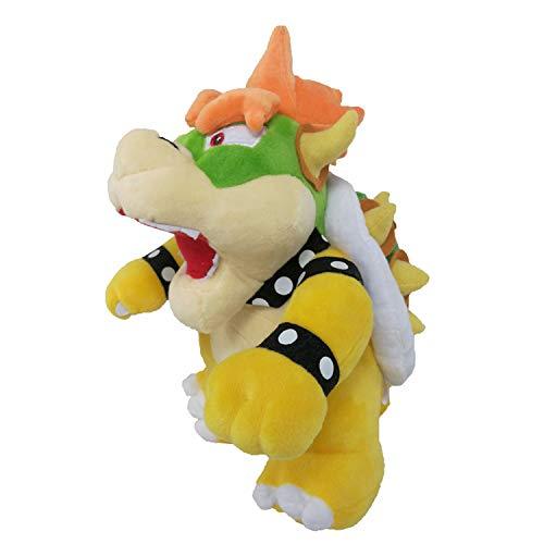 WMBDL Super Mario Plush - 10' Bowser Soft Stuffed Plush Toy (Yellow)