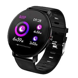 TDOR Smartwatch con Whatsapp Hombre Mujer Reloj Inteligente Android iOS