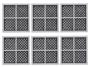 6 Pack Replacement, Refrigerator Air Filter to LG LT120F, ADQ73214404, Kenmore 469918