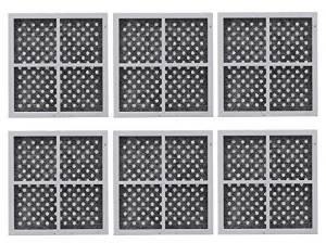 EXACT REPLACEMENT 6 Paquetes de reemplazo, Frigorífico Filtro de Aire para LG LT120F, ADQ73214404, Kenmore 469918