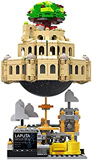 XINGBAO 05001 Creative MOC Series 1179PCS The City in The Sky Set with Music Box Building Blocks Educational Bricks Castle Building Sets Gift