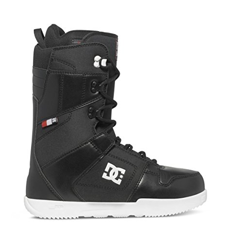 DC Men's Phase Lace Up Snowboard Boots, Black, 9