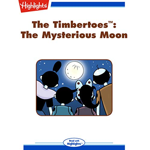 The Timbertoes: The Mysterious Moon copertina