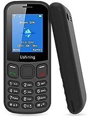 """Telefono Cellulare per Anziani con Tasti Grandi, Ukuu GSM Basic Tastiera Cellulari Economico 1,8"""" Display Chiamata Rapida and Torcia Radio Suono Alto"""