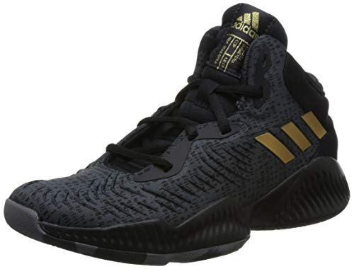adidas Mad Bounce 2018, Zapatos de Baloncesto Unisex Niños, Negro (Cblack/Gold MT/Carbon Cblack/Gold MT/Carbon), 31 EU