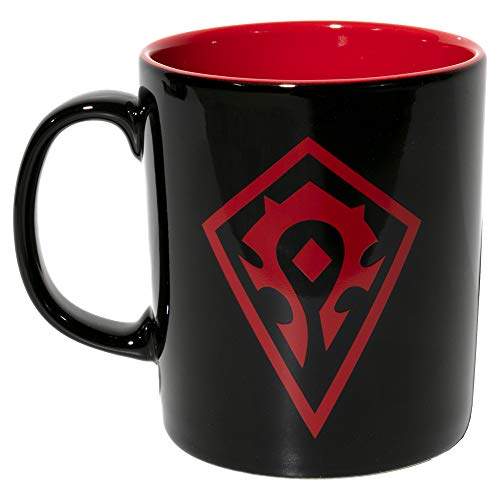 JINX World of Warcraft For The Horde - Taza de café de cerámica, 325 ml