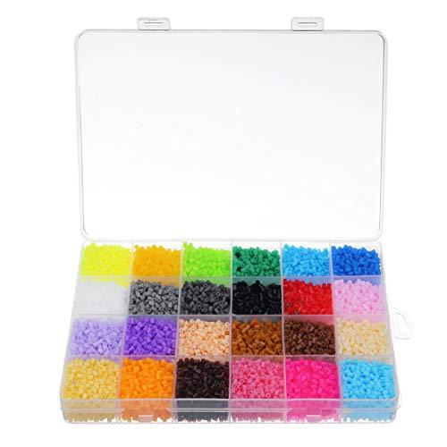 24 Colores 2.6Mm DIY Fuse Beads Toys Kids Hama Beads Inteligencia Creativa Educación Puzzles