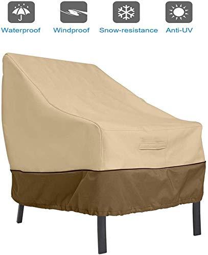 Cubiertas de Protección de Objeto Muebles de Jardín Protector, 210OxforFabric Impermeable Protector Protector, Para Exterior Anti Desvanece 89 * 97 * 79 cm