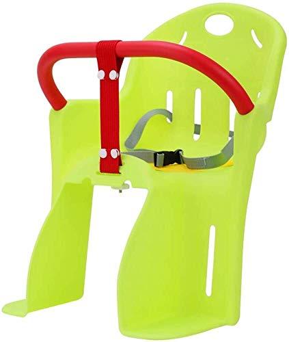 Asiento de la bicicleta niños For asiento de bicicleta del asiento de la bicicleta del niño del asiento trasero Niño Niños Reforzar la seguridad del bebé con el cinturón de seguridad Caja de seguridad