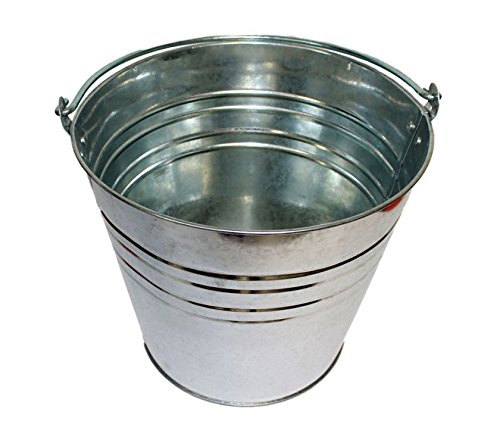 Pamex - Cubo galvanizado de 12 L