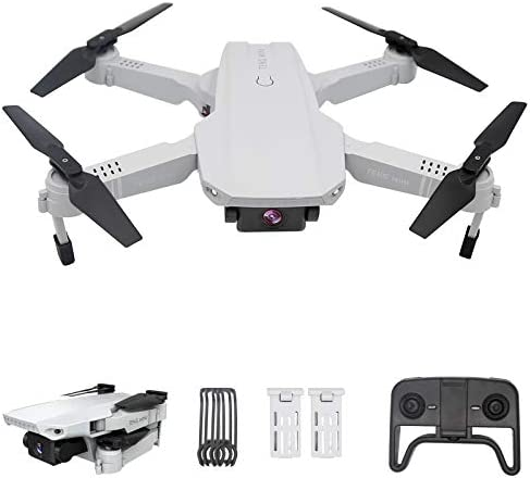 OBEST Drone with Dual Camera 4K HD for Beginner, Smart Follow, WiFi FPV Live Video, Gesture Operation, Headless Mode, 2.4Ghz Mobile Remote Control Foldable Quadcopter for Adults Kids