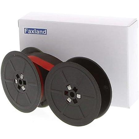 Marke Faxland Farbband f/ür die Olivetti ET Compact 70 Schreibmaschine kompatibel