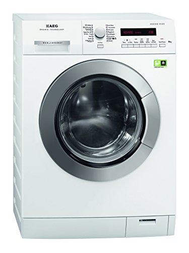 AEG ÖKO_LAVAMAT L79484EFL Waschmaschine FL / A+++ / 175 kWh/Jahr / 1400 UpM / 8 kg GentleCare Trommel / großes LC-Display