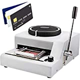 ZauberLu 72 Zeichen Prägemaschine PVC-Karten Manuell Prägestempel Buchstaben Embosser Stanzmaschine Für Geschenkkarte Kredit VIP ID