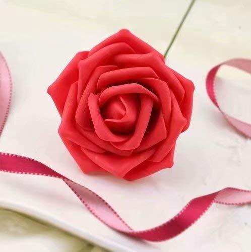 10x Foamrosen Schaumrosen Schaumk?pfe Künstliche Blume Brautstrau? Party Hause Dekor Rosen