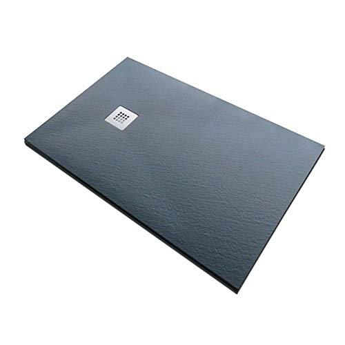 Piatto doccia in pietra SolidStone alto 2,8 cm - Nero...