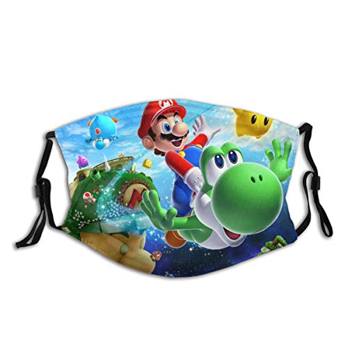 Anti Dust MA Face Mouth MA,Fashion Reusable Washable Outdoor Unisex The Legend of Zelda Superhero Super Mario Smash Bros MA