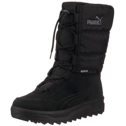 PUMA Unisex-Erwachsene Borrasca III GTX Schneestiefel, Schwarz (Black-Black 01), 36 EU