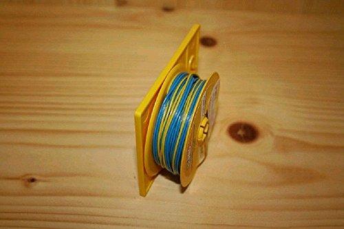 BRAWA 3172 Flachbandlitze 0,14mm 5m blau/blau/gelb