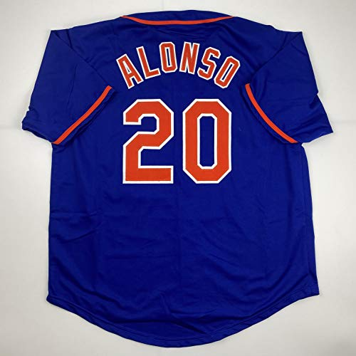 Unsigned Pete Alonso New York Blue Custom Stitched Baseball Jersey Size Men's XL New No Brands/Logos