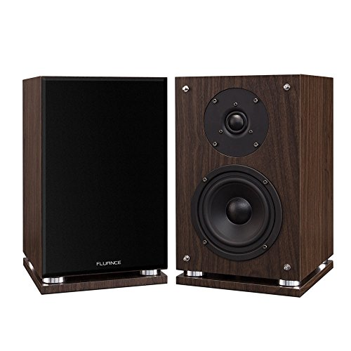 Fluance SX6W High Definition Two-Way Bookshelf Loudspeakers...