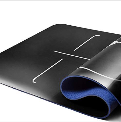 Outdoor sport houlian winkel Natuurlijke Rubber Yoga Mat Odorless PU Verdikking Verbreding Mat Beginner Verdikking Antislip Fitness Mat