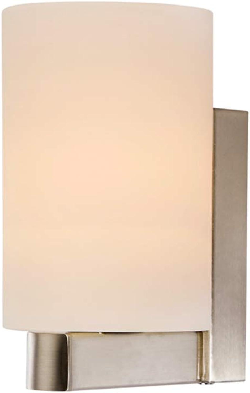 Wandleuchten Wandlampe Wandbeleuchtung Auenwandleuchten Nachttischlampe Wandleuchte Persnlichkeit Kreative Wohnzimmer Lichter Lampe Treppe ZHAOYONGLI (Farbe   Silber, gre   7.5  20cm)