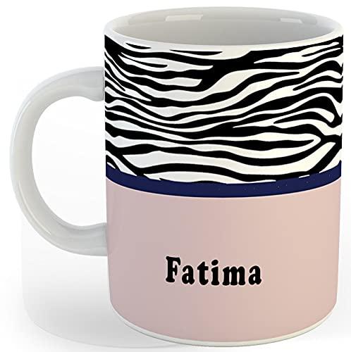 P89M Gift 'Fatima' Name Coffe Ceramic Mug/Coffe Mug